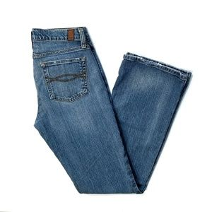 Abercrombie and Fitch flare leg blue jeans 4S
